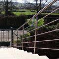 Garde corps inox en kit 5 barres à l'anglaise : rampe escalier, terrasse, balcon, mezzanine 44