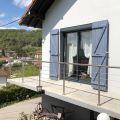 Garde corps à câbles en inox en kit à la française : terrasse, balcon, mezzanine 14