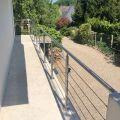 Garde corps à câbles en inox en kit à la française : terrasse, balcon, mezzanine 29