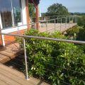 Garde corps inox en kit à câbles à la française : terrasse, balcon, mezzanine 4