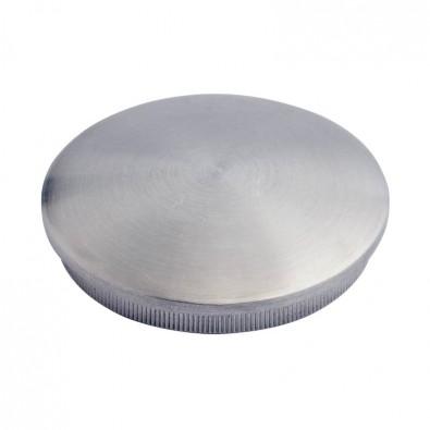 Bouchon pas cher massif bombé diam 30 mm en inox 304 brossé à frapper