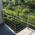 Garde corps à 5 barres en inox en kit à la française : rampe escalier, terrasse, balcon, mezzanine 4