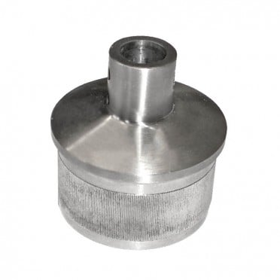 Bouchon support de main courante pour tube 42,4 mm en inox 304 brossé