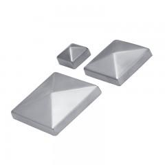 grossiste le plus fiable taille 7 Chapeaux couvre - poteaux carrés pointe de diamant en inox ...