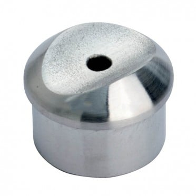 Adaptateur tube sur tube en inox 316 diamètre 33,7 mm, à pans arrondis