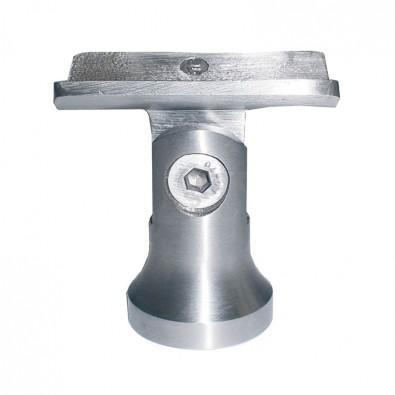 Support de main courante 42,4mm orientable poteau au choix inox 316