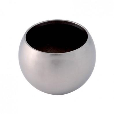 Finition de main courante pour tube de 33,7 mm, demi-sphère creuse
