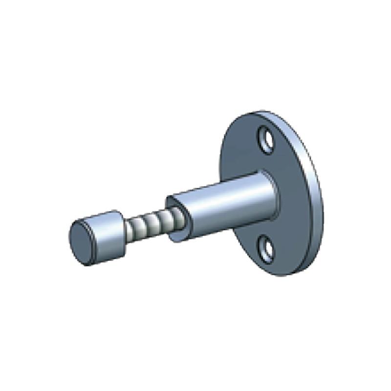 Fixation d'appui de fenêtre en tube rond ø 33,7 mm inox 304