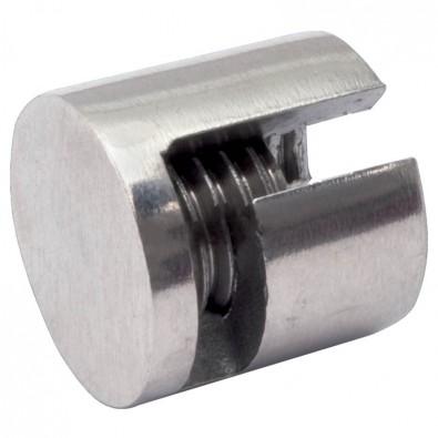 Arrêt butoir 180° en inox 316 pour câble 4 mm