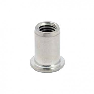 Rivet fileté en inox 304, filetage M8, 16 mm, pour tube inox