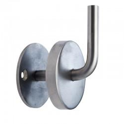 supports de main courante pour poteaux et pour fixation murale metalenstock. Black Bedroom Furniture Sets. Home Design Ideas