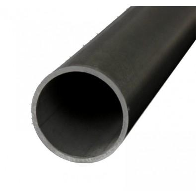 Tube rond diamètre 76,1 mm épaisseur 3 mm en acier brut