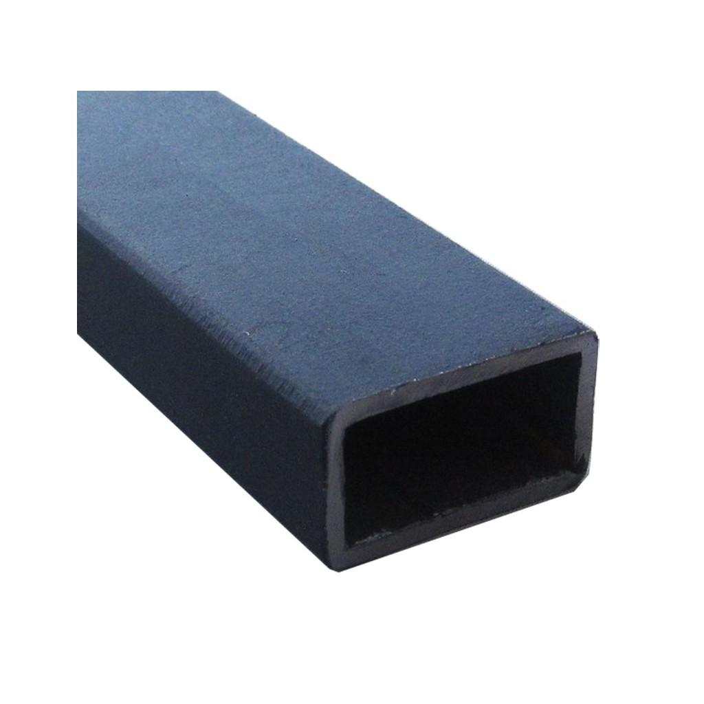 Tube rectangulaire acier 40 x 20 mm paisseur 2 mm - Profile aluminium rectangulaire ...