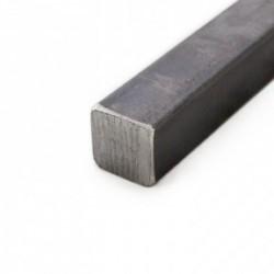 Fer carré de 25 mm en acier brut
