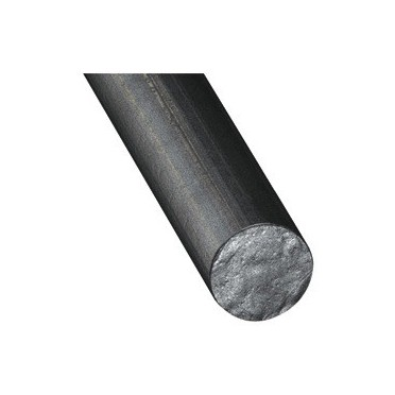 Fer rond de 25 mm en acier brut