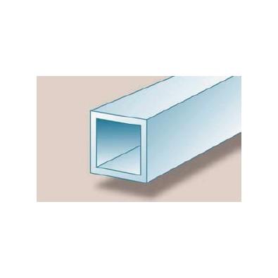 Tube carré aluminium 40 x 40 x 2 mm brut