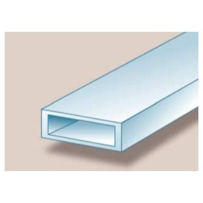 Tube rectangulaire aluminium 40 x 20 x 2 mm brut