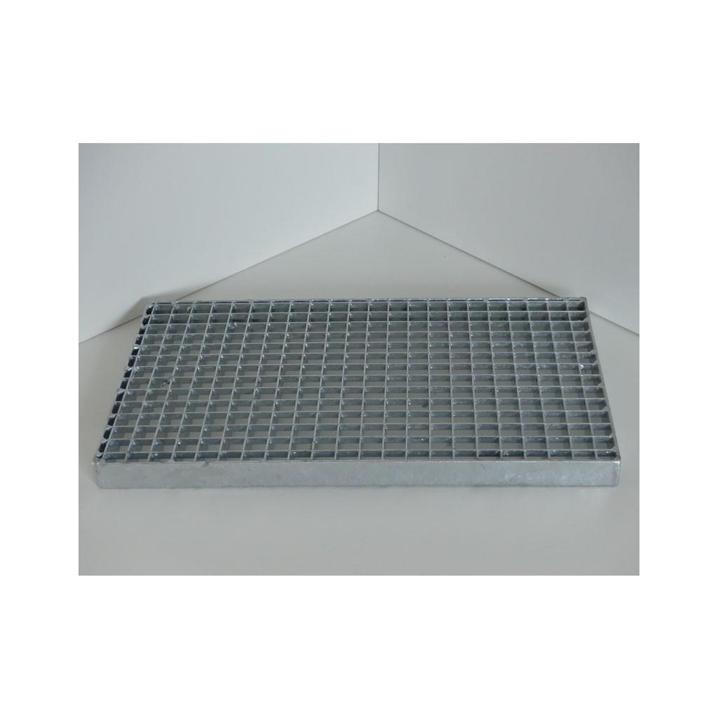 caillebotis press en acier galvanis maille 19 19 et porteurs 30 2 mm. Black Bedroom Furniture Sets. Home Design Ideas