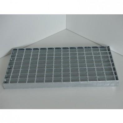 Caillebotis electroforgé en acier galvanisé sur mesure maille 30/30 et porteurs 30/3 mm