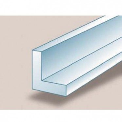 Cornière aluminium brut inégale 15 x 15 x 2 mm