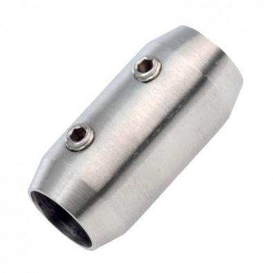 Raccord de lisses diamètre 10 mm en inox 316 brossé