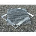 Cadre acier galva sur mesure pour caillebotis en cornière section 35 x 35 x 3 mm 3