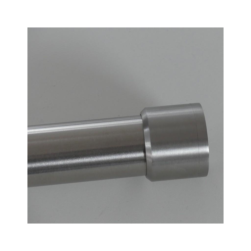 Garde corps de fen tre inox bross diam tre 33 7 mm et 1 for Garde corps pour fenetre