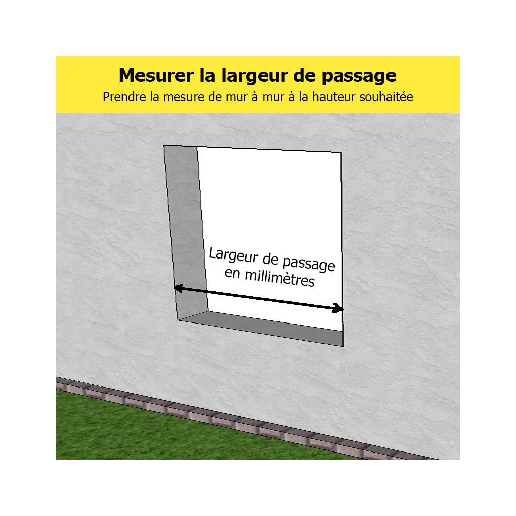Barre Dappui De Fenêtre Ronde Inox Brossé Diamètre 337 Mm