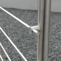 Garde corps à 5 barres en inox en kit à la française : rampe escalier, terrasse, balcon, mezzanine 56