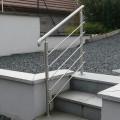 Garde corps à 5 barres en inox en kit à la française : rampe escalier, terrasse, balcon, mezzanine 29