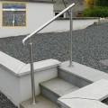 Rampe d'accès inox en kit avec BAGUE pour escalier, terrasse ou plateforme : qualité et prix ! 7