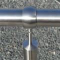 Rampe d'accès inox en kit avec BAGUE pour escalier, terrasse ou plateforme : qualité et prix ! 14