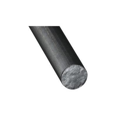 Lisse de garde corps top design en fer rond étiré de 12 mm, LONGUEUR 2 METRES