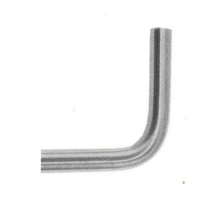 Coude à souder à 90° pour lisse de garde corps acier diamètre 12 mm
