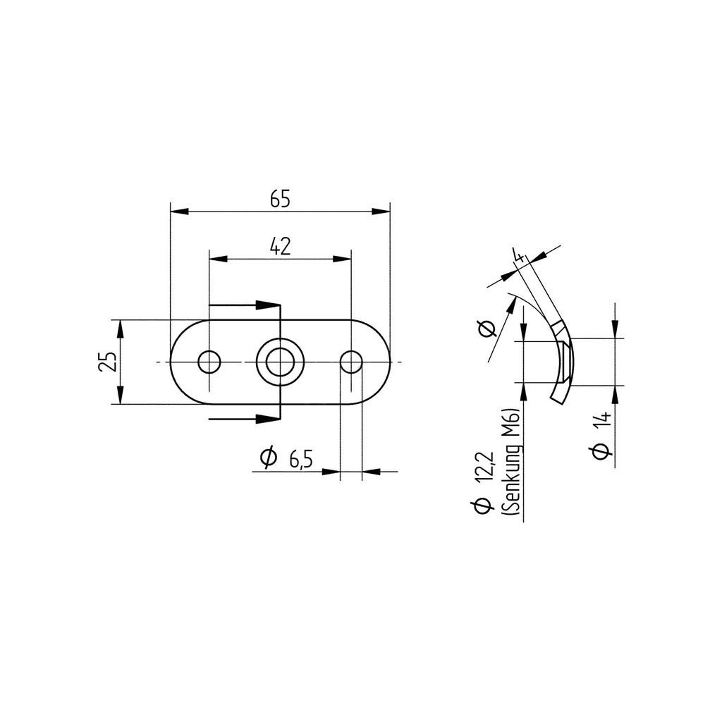Support de fixation pour main courante 33 7 mm en inox 304 bross - Support de main courante ...