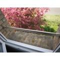 Barre d'appui de fenêtre ronde en inox brossé diamètre 42,4 mm 10