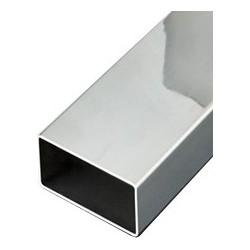 Profil s acier inox et aluminium en barres vos mesures 9 metalenstock - Profile aluminium rectangulaire ...