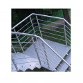 Garde corps inox en kit 5 BARRES à la française : rampe escalier, terrasse, balcon, mezzanine 26
