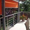 Garde corps à 5 barres en inox en kit à la française : rampe escalier, terrasse, balcon, mezzanine 0
