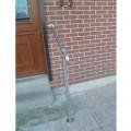 Rampe d'accès inox en kit avec BAGUE pour escalier, terrasse ou plateforme : qualité et prix ! 2