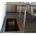 Garde corps inox en kit 5 BARRES à la française : pour terrasse, balcon ou mezzanine 3
