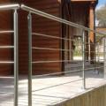 Garde corps inox en kit 5 BARRES à la française : pour terrasse, balcon ou mezzanine 9