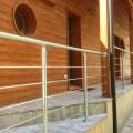 Garde corps inox en kit 5 BARRES à la française : pour terrasse, balcon ou mezzanine 11