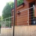 Garde corps inox en kit 5 BARRES à la française : pour terrasse, balcon ou mezzanine 13