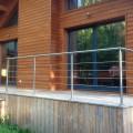 Garde corps inox en kit 5 BARRES à la française : pour terrasse, balcon ou mezzanine 0