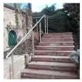 Rampe d'escalier sur poteaux, en kit, en inox 304 brossé 15