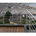 Garde corps inox en kit 5 barres à l'anglaise : rampe escalier, terrasse, balcon, mezzanine 8