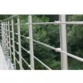 Garde corps inox en kit 5 barres à l'anglaise : rampe escalier, terrasse, balcon, mezzanine 37