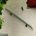 Main courante escalier design en inox intérieur ou exterieur en kit 5