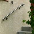 Main courante escalier intérieur ou exterieur en inox en kit 17